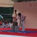 水巻夏祭り演武会2015 福本会館