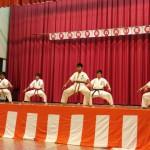 福本会館 空手演武 in 鞍手ふれあい夏祭り2015